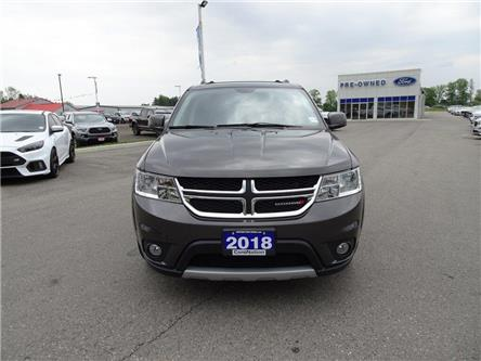 2018 Dodge Journey GT | AWD | HTD LEATHER | 3 ROW | PUSH START | (Stk: DR243) in Brantford - Image 2 of 46