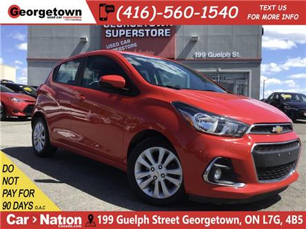 2017 Chevrolet Spark 1LT  | BACK UP CAM | FOGS | ALLOYS | BLUETOOTH (Stk: P12482) in Georgetown - Image 1 of 26