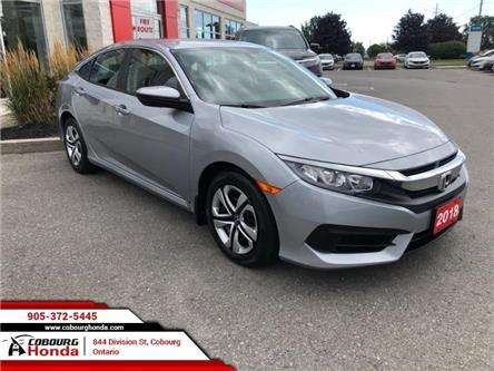 2018 Honda Civic LX (Stk: 19424B) in Cobourg - Image 1 of 20