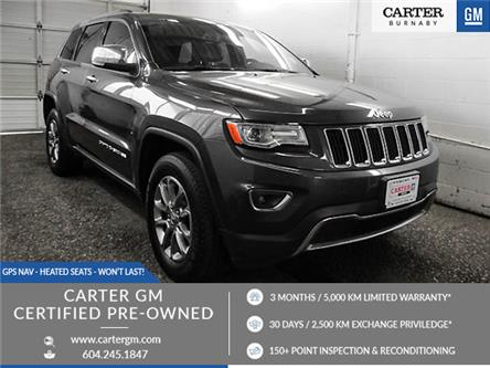2015 Jeep Grand Cherokee Limited (Stk: K-49401) in Burnaby - Image 1 of 26