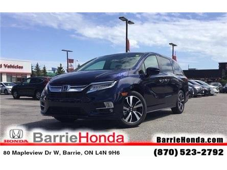 2019 Honda Odyssey Touring (Stk: 191359) in Barrie - Image 1 of 26