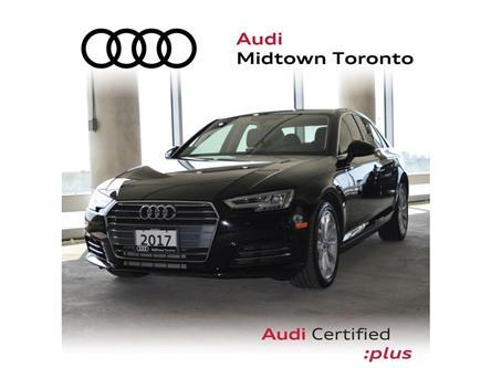 2017 Audi A4 2.0T Progressiv (Stk: P7389) in Toronto - Image 1 of 26