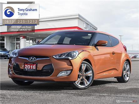 2016 Hyundai Veloster Tech (Stk: 58501A) in Ottawa - Image 1 of 29