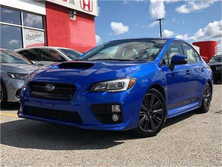 2016 Subaru WRX Sport Package (Stk: 58696A) in Scarborough - Image 1 of 22
