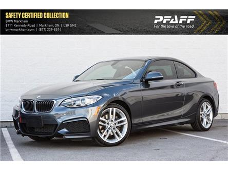 2016 BMW 228i xDrive (Stk: O12405) in Markham - Image 1 of 18