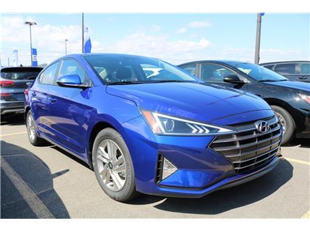 2020 Hyundai Elantra Preferred w/Sun & Safety Package (Stk: 02119) in Saint John - Image 1 of 3