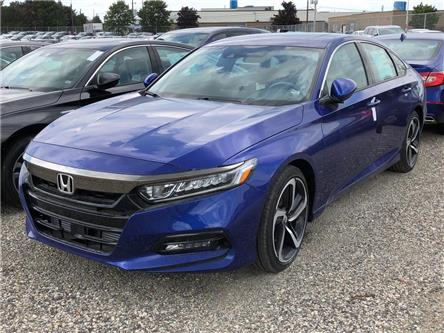 2019 Honda Accord Sport 1.5T (Stk: I190907) in Mississauga - Image 1 of 5