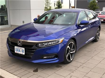2019 Honda Accord Sport 1.5T (Stk: I190705) in Mississauga - Image 1 of 5