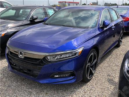 2019 Honda Accord Sport 1.5T (Stk: I191393) in Mississauga - Image 1 of 5