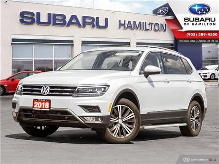 2018 Volkswagen Tiguan Highline (Stk: U1484) in Hamilton - Image 1 of 27