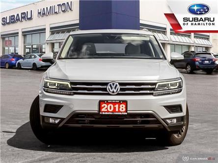 2018 Volkswagen Tiguan Highline (Stk: U1484) in Hamilton - Image 2 of 27