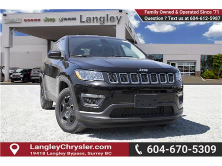 2019 Jeep Compass Sport (Stk: K788625) in Surrey - Image 1 of 23