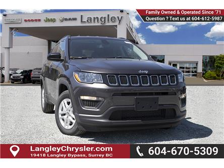2019 Jeep Compass Sport (Stk: K819525) in Surrey - Image 1 of 24