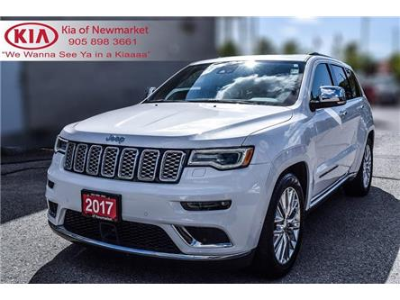 2017 Jeep Grand Cherokee Summit (Stk: P0968) in Newmarket - Image 1 of 22