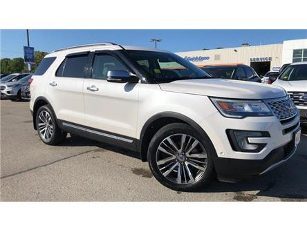 2017 Ford Explorer Platinum (Stk: 19T54A) in Midland - Image 1 of 24