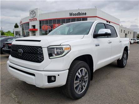 2020 Toyota Tundra Platinum (Stk: 20-229) in Etobicoke - Image 1 of 14