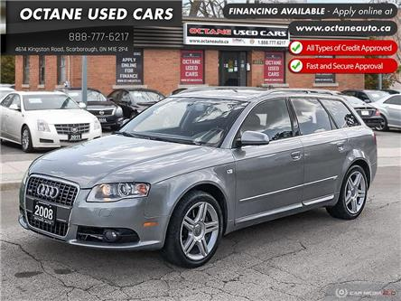 2008 Audi A4 2.0T Avant (Stk: ) in Scarborough - Image 1 of 25