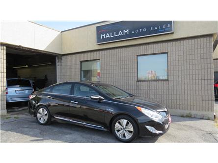2013 Hyundai Sonata Hybrid Limited (Stk: ) in Kingston - Image 1 of 17