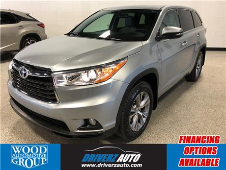 2015 Toyota Highlander LE (Stk: P12149) in Calgary - Image 1 of 18