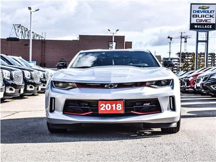 2018 Chevrolet Camaro 1LS/REDLINE/6-SPD MAN/20s/CARPLAY/DUAL MODE EXHST (Stk: 155897B) in Milton - Image 2 of 24