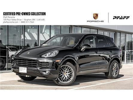 2017 Porsche Cayenne Platinum Edition (Stk: U8097) in Vaughan - Image 1 of 22