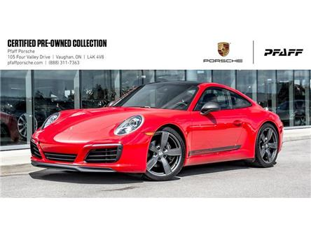 2019 Porsche 911 Carrera T Coupe PDK (Stk: U8136) in Vaughan - Image 1 of 22