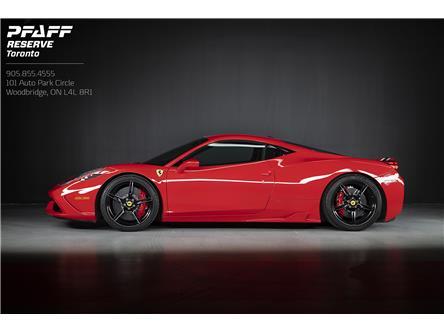 2015 Ferrari 458 Speciale Base (Stk: AS001) in Woodbridge - Image 1 of 18