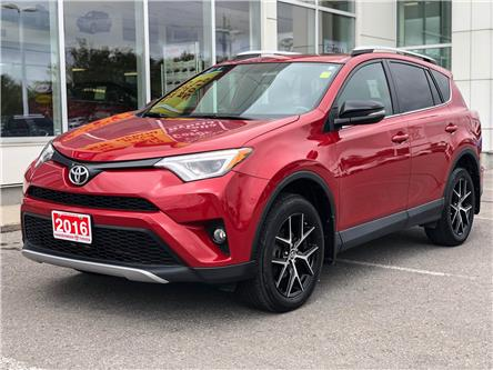 2016 Toyota RAV4 SE (Stk: TV210A) in Cobourg - Image 1 of 25