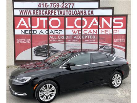 2015 Chrysler 200 Limited (Stk: 610180) in Toronto - Image 1 of 13