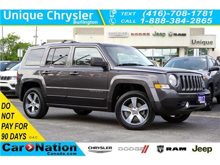 2017 Jeep Patriot HIGH ALTITUDE| 4x4| NAV| LEATHER| SUNROOF (Stk: K1060A) in Burlington - Image 1 of 45