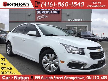 2015 Chevrolet Cruze LT 1LT | | TINTS | BU CAM | FUEL SAVER (Stk: P12451) in Georgetown - Image 1 of 24