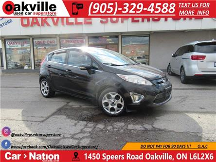 2011 Ford Fiesta SES | HTD SEATS | SUNROOF | LEATHER | B/T (Stk: P12435) in Oakville - Image 1 of 19