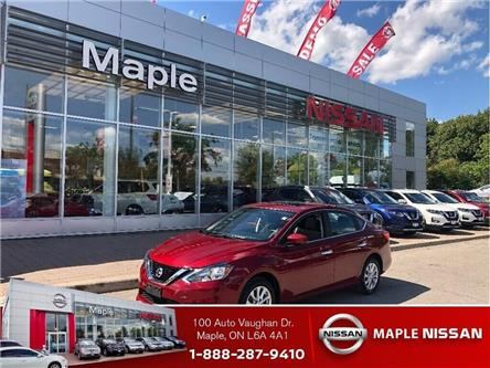 2019 Nissan Sentra SV-Roof,Alloys,Push Start,Auto,Clean Carfax! (Stk: UM1638) in Maple - Image 1 of 18