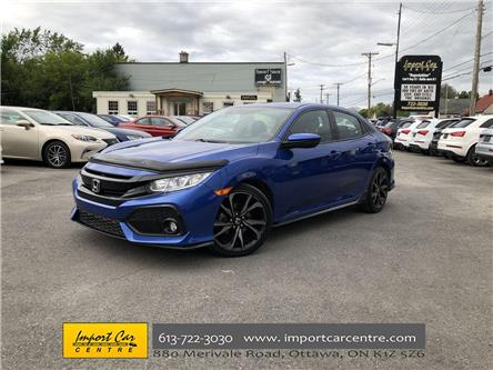 2017 Honda Civic Sport (Stk: 309867) in Ottawa - Image 1 of 25