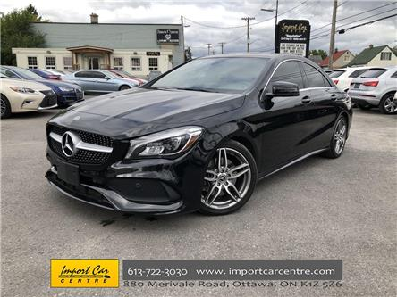 2018 Mercedes-Benz CLA 250 Base (Stk: 548776) in Ottawa - Image 1 of 25