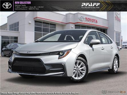 2020 Toyota Corolla 4-door Sedan SE CVT (Stk: H20100) in Orangeville - Image 1 of 24
