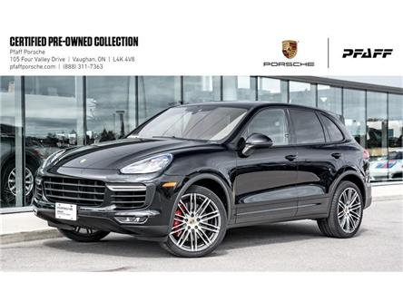 2015 Porsche Cayenne Turbo w/ Tip (Stk: P14705A) in Vaughan - Image 1 of 22
