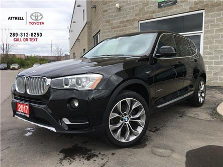 2017 BMW X3 XDRIVE28I AWD LEATHER, ALLOYS, FOG LAMPS, BACK CAM (Stk: 44974XA) in Brampton - Image 1 of 25