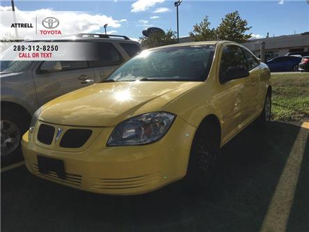 2009 Pontiac G5 AIR CONDITION 2 DOOR COUPE, SPOILER, CD (Stk: 44318B) in Brampton - Image 1 of 9