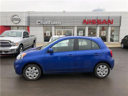 2017 Nissan Micra SV (Stk: 8340A) in Chatham - Image 1 of 10