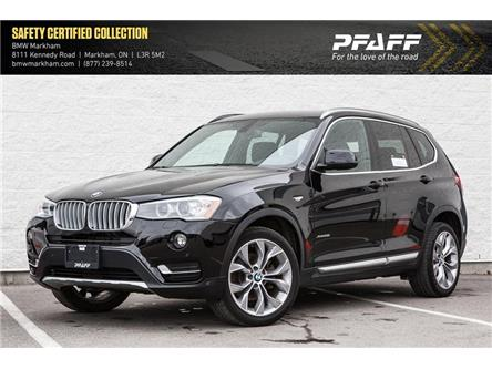 2017 BMW X3 xDrive28i (Stk: O12214) in Markham - Image 1 of 19