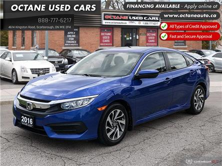 2016 Honda Civic EX (Stk: ) in Scarborough - Image 1 of 25
