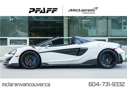 2020 McLaren 600LT Spider (Stk: MV0268) in Vancouver - Image 1 of 21