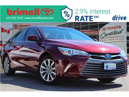 2016 Toyota Camry Hybrid LE (Stk: 9961) in Scarborough - Image 1 of 31