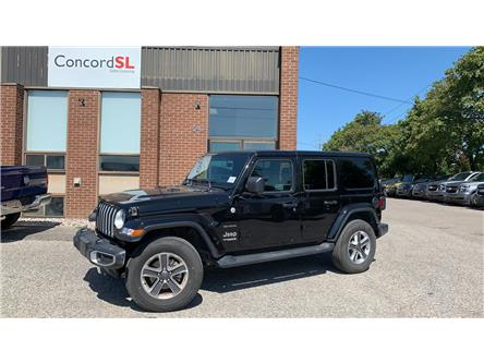 2019 Jeep Wrangler Unlimited Sahara (Stk: C3039) in Concord - Image 1 of 5
