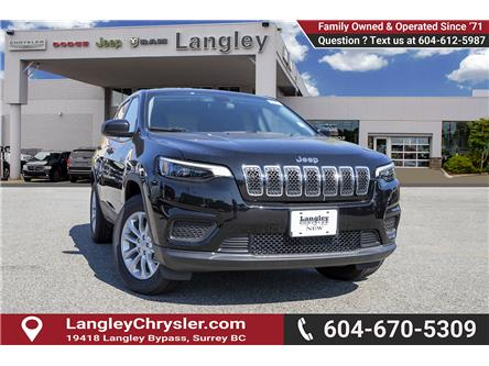 2019 Jeep Cherokee Sport (Stk: K450360) in Surrey - Image 1 of 22