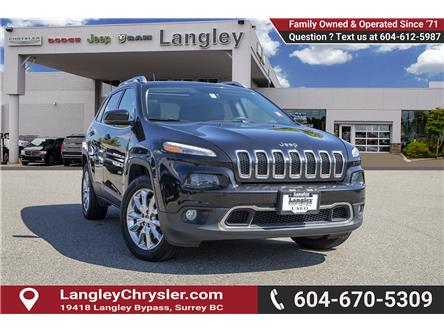 2016 Jeep Cherokee Limited (Stk: K859632A) in Surrey - Image 1 of 24