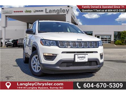 2019 Jeep Compass Sport (Stk: K819526) in Surrey - Image 1 of 23