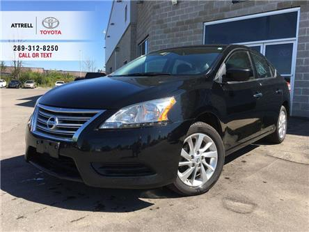 2015 Nissan Sentra SV ALLOY WHEELS, BACK CAM, HEATED SEATS, PUSH BUTT (Stk: 45489A) in Brampton - Image 1 of 26