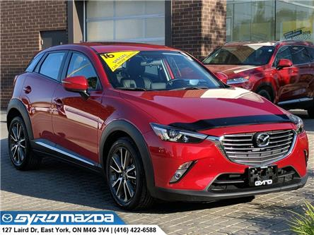 2016 Mazda CX-3 GT (Stk: 29037A) in East York - Image 1 of 30
